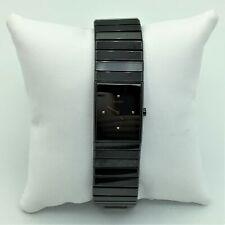 Rado Jubilé Diastar Swiss High-Tech Ceramics & Diamond Mens Wrist Watch Runs