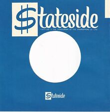 STATESIDE Company Reproduction Record Sleeves - STRAIGHT TOP  UNBOXED  (10 PACK)