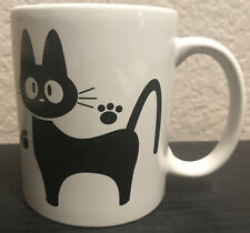 Kiki's Delivery Service Studio Ghibli Jiji Cat Mug Coffee Cup Official Japan