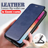For Xiaomi Redmi 8A 8 7A 7 Luxury Magnetic Flip Leather Wallet Stand Case Cover