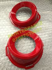 GM OPC ASTRA H VECTRA C VXR RACING FLAME POWER RED FOG LIGHT GRILL SURROUND RING