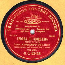 Fenando De LUCIA - Fedora (Giordano): Amor ti vieta