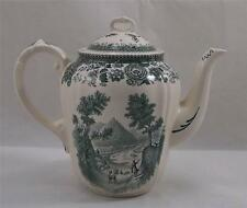Villeroy & and Boch BURGENLAND GREEN coffee pot with lid