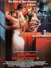 1985 A Nightmare on Elm Street 2 Movie High Quality Metal Fridge Magnet 3x4 9747