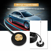 UHF/VHF NMO Mount Magnetic Base PL-259 for Car Mobile Radio Antenna RG-58 Cable