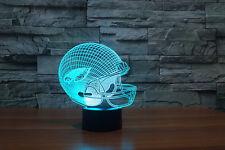 NFL Buffalo Philadelphia Eagles Night Light Des 3D Acrylic LED 7colors USB