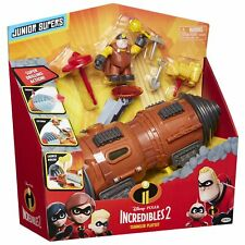 Disney Pixar THE INCREDIBLES 2 Junior Supers TUNNELER Toy Vehicle Playset