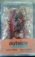 Outside Inside by Julie Thompson Canoeing Santa with Animals & Gifts *Brand New*