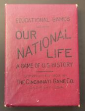 New ListingAntique Game Our National Life, The Cincinnati Game Co., c. 1903