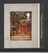 GB MNH STAMP 2018 HAMPTON COURT PALACE BEDCHAMBER SELF-ADHESIVE EX BOOKLET