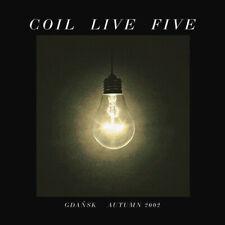 Coil - Live Five - Gdańsk Autumn 2002 NEW MINT C93 NURSE WITH WOUND