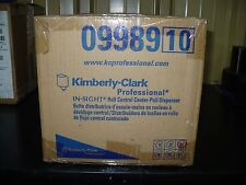 Kimberly Clark 09989 In Sight Roll Control Center Pull Dispenser New
