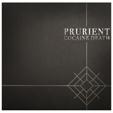 PRURIENT Cocaine Death LP *WHiTE ViNYL* SEALED clay rendering vatican shadow