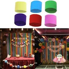 Christmas Festive Party Decoration 18 Rolls 25M Crepe Paper Party Streamer