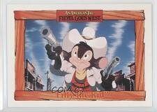 1991 Impel An American Tail: Fievel Goes West #31 Filly the Kid Card 0b6