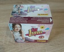 Panini Soy Luna Disney 2016 Unopened Box 50 Packets Packs Tuten Display Figurine