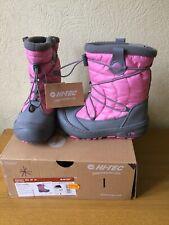 Hi-Tec Equinox Walking Boots Grey/Pink Size 4