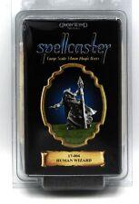 Spellcaster 17-004 Human Wizard (54mm) Iron Wind Metals Mage Sorcerer Magic User