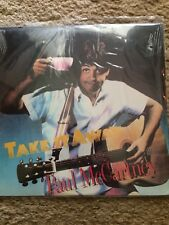 "Paul Mccartney Take It Away 12"" Sealed Single Rare First Press Vinyl"