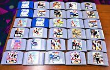 30 NINTENDO 64 (N64) SPORTS GAMES!!!