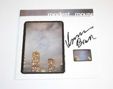 ISAAC BROCK MODEST MOUSE SIGNED THE LONESOME CROWDED WEST VINYL RECORD ALBUM COA