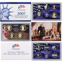 2007 S Proof Set Original Box & COA 14 Coins CN-Clad US Mint