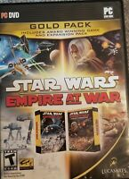 Star Wars Empire At War Gold Pack With CD Key For PC Rated T