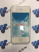Funda transparente de TPU para Iphone 4G 4S con cristal opcional ENVIO GRATIS