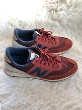 WOMENS NEW BALANCE CW 620 Burgundy and Navy Size 7