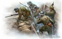Master Box 35114 - 1/35 - British InfanBefore the Attack with Trench WWI