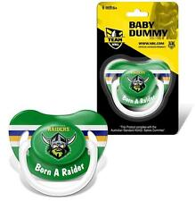 NRL Infant - Dummy - Canberra Raiders - Baby - Child - BNWT