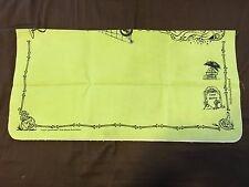 SPELLGROUND PLAYMAT 2016 GREEN HALLOWEDGROUND KHALSA BRAIN NEAR MINT YUGIOH