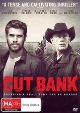 Cut Bank (DVD, 2016)*R4*Liam Hemsworth*John Malkovich*VGC