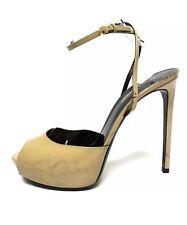 New Authentic SAINT LAURENT YSL Janis Sandals Heels Not Gucci Chanel Dior EU41,5