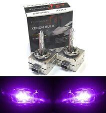 HID Xenon D1S Two Bulbs Head Light 12000K Purple Bi-Xenon Replacement Plug Play
