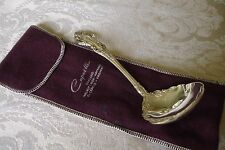 Wallace Grand Victorian Sterling Silver Gravy Ladle Spoon