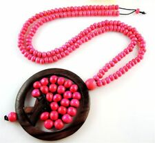 Tree of Life Wooden Fashion Necklaces & Pendants