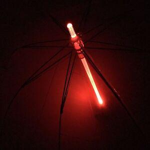 7 LED Color Changing Blade Runner Light Saber Star Wars Umbrella w/ Flashlight