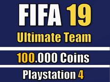 FIFA 19 FUT Ultimate Team - 100.000 Münzen / 100k Coins - PS4