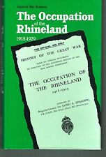 OCCUPATION OF RHINELAND-WWI BRITISH OFFICIAL HISTORY