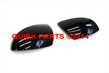 2010-2013 Mazda 3 Right & Left Black Side View Mirror Housing Covers OEM NEW