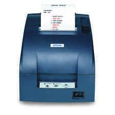 New Epson TM-U220B653  Printer Gray C31C514653 M188B with power supply Serial