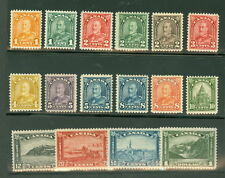 CANADA #162-77 Complete set, og, hinged, VF, Scott $505.00