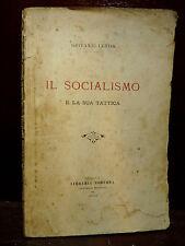 GIOVANNI LERDA : IL SOCIALISMO e la sua TATTICA - GENOVA 1902  politica rarita