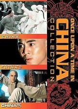 Once Upon a Time in China 1, 2  3 (DVD, 2001, 3-Disc Set) Used