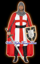 FANCY DRESS COSTUME  # ENGLAND CRUSADER ST GEORGE M/L