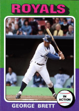 GEORGE BRETT 75 IN ACTION ACEO ART CARD ## BUY 5 GET 1 FREE ### or 30% OFF 12