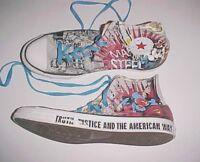 Converse Chuck Taylor DC Comics Superman Man of Steel Hi-Top Shoes Sneakers 11