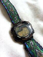 Vintage Casio Speed Trainer STR 1000 Chrono 1990's Retro Wristwatch