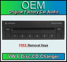 VW 6 Disc changeur CD, Volkswagen Golf MK4 GAMMA/BETA Radio Cassette